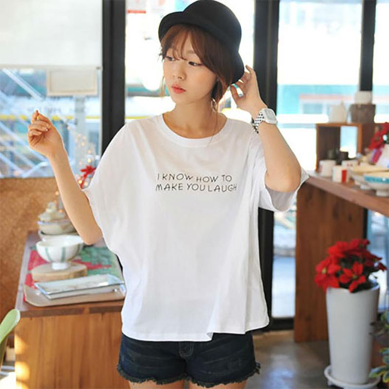 胖MM大码短袖T恤