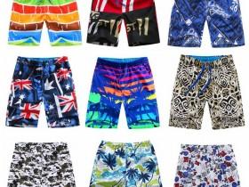 沙滩裤男宽松