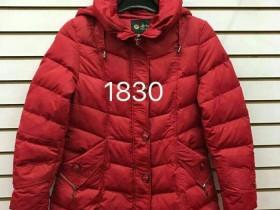 女款羽绒服货号1830批发25元