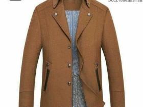 海澜之家剪标羊绒大衣25元
