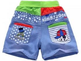 中小童牛仔短裤6元