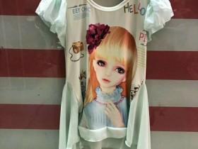 中童装芭比娃娃牛奶丝连衣裙6元