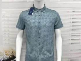 啄木鸟商务休闲短袖衬男装7元