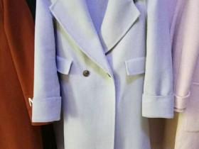 女款双面羊绒大衣大长款25元