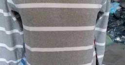 纯棉条纹男款长袖T恤9元