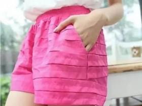 夏装女短裤批发1元