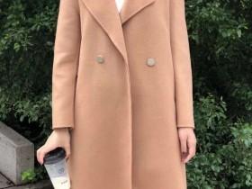 新款羊毛双面呢大衣批发26