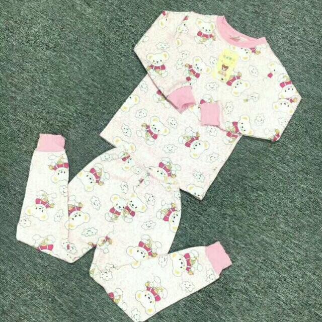 小童牛奶丝加绒保暖衣套装8元 5元童装批发 第7张