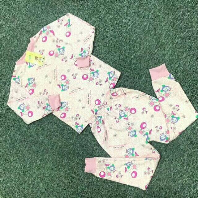 小童牛奶丝加绒保暖衣套装8元 5元童装批发 第5张