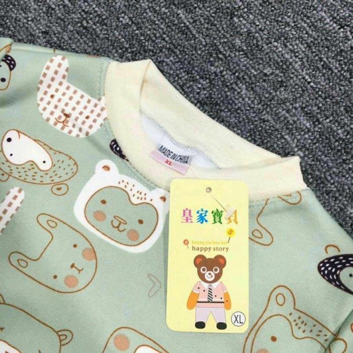 小童牛奶丝加绒保暖衣套装8元 5元童装批发 第12张