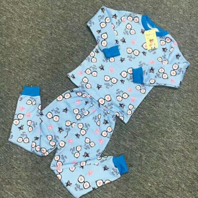 小童牛奶丝加绒保暖衣套装8元 5元童装批发 第8张