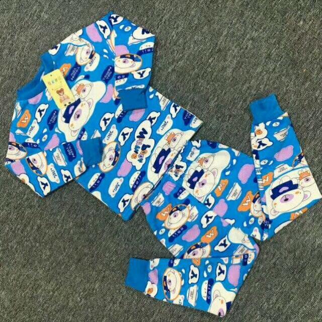 小童牛奶丝加绒保暖衣套装8元 5元童装批发 第11张